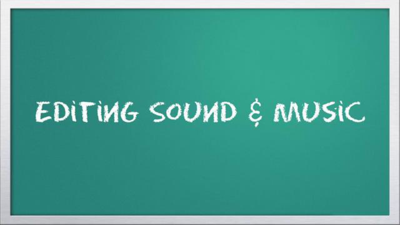 Video 101: Editing sound & music with Windows Live Movie