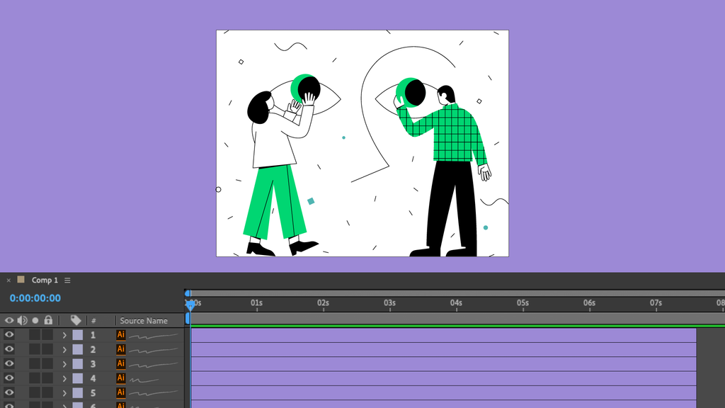 Designing in Illustrator for After Effects animation - Vimeo