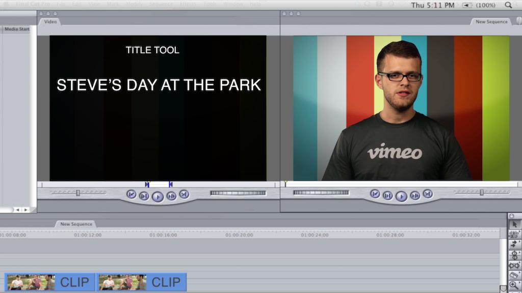 Video 101: Editing basics - Vimeo Blog