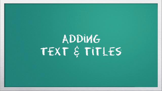 Video 101: Adding text & titles with iMovie - Vimeo Blog