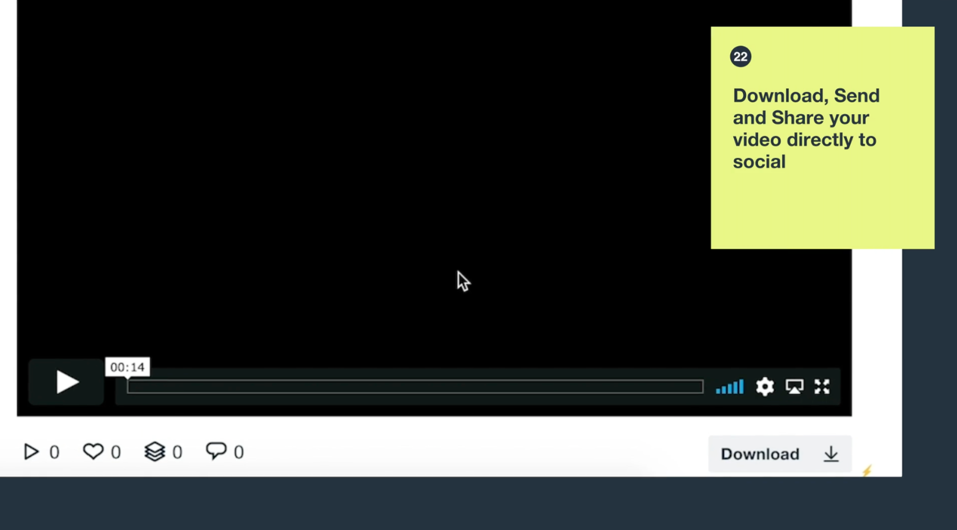 download vimeo create interface
